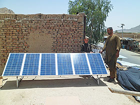 Provision and Installation of 300 Solar Home Systems for shopkeeper in Helmand Province in 2012