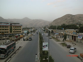 Solar Power LED Street Light for Badakhshan
