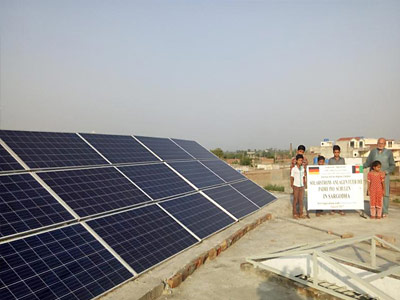 10kW Solar Power System in Sargodha, Pakistan